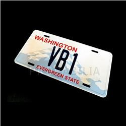 Once Upon a Time - Victoria's SUV License Plate Prop (7206)