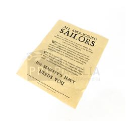 Once Upon a Time - Able Sailors Poster Prop S05E15 (0735)