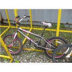 BENT BMX BIKE