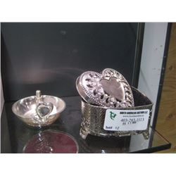 JEWELRY BOX AND RING STAND