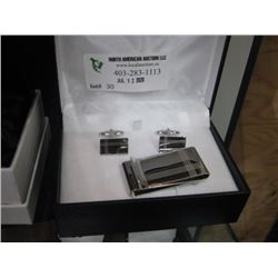 DOUBLE FOLD MONEY CLIPS AND CUFFLINKS