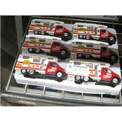 SET OF 6 JUST MARRIED TOY CAR