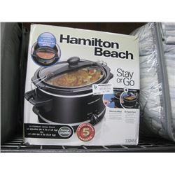HAMILTON BEACH 4-L CROCKPOT