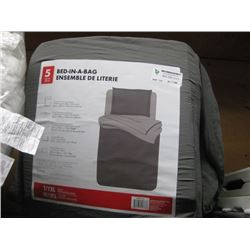 5-PC BED-IN-A-BAG TWIN