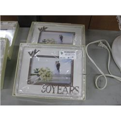 SET OF 2 50 YEARS FRAME