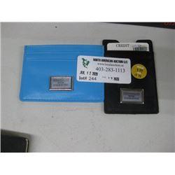 SET OF 2 SLIM CREDIT CARD WALLET