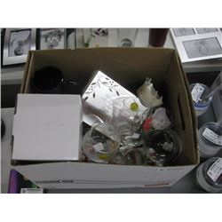 BOX OF ASSORTED GIFTWARE