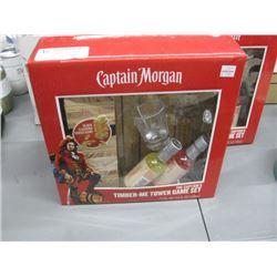CAPTAIN MORGAN TIMBER--ME TOWER GAME SET