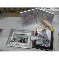 SET OF 3 ASSORTED PICTURE FRAMES