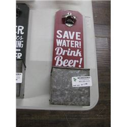 SAVE WATER WALL OPENER