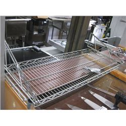 35 INCH WIRE SHELF OVERSHELF