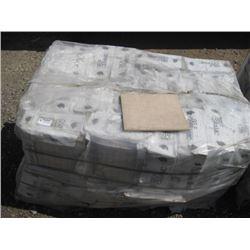 APPROX 600 SQUARE FEET BEIGE CERAMIC TILES
