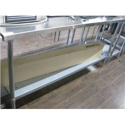 STAINLESS STEEL PREP TABLE 30 X 72 INCHES