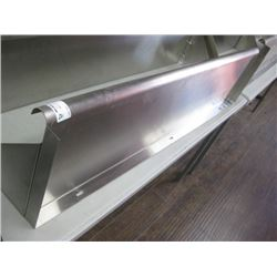 STAINLESS STEEL OVER SHELF 48 INCH