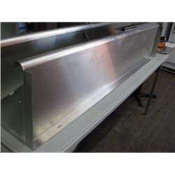 STAINLESS STEEL OVER SHELF 72 INCH