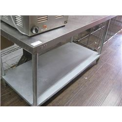 EFI STAINLESS STEEL TABLE 30 X 60 INCH