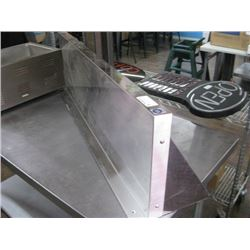 48 INCH STAINLESS STEEL OVER SHELF