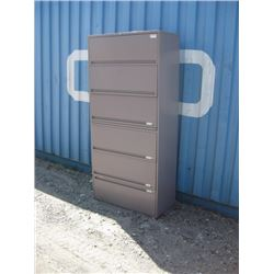 6 DRAW FILING CABINET