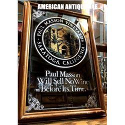 51cm Paul Masson / American Pub Mirror