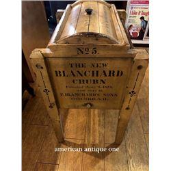Cheese maker 82cm Wooden Blanchard Churn