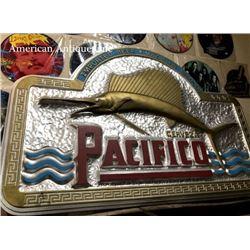 USA BAR 125cm Pacifico Wooden Sign