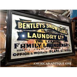 77cm Bentleys Snowflake Laundry/American Pub Mirror