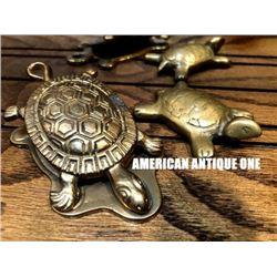 Turtle 2 piece set American antique