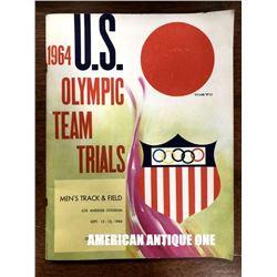 1964 Tokyo Olympics American Athletes / Special Magazine