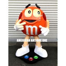 M&M's figure orange