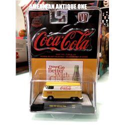 2019 USA Coca-Cola Minicar 1960 model Volkswagen Delivery Van