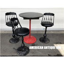 USA Coca-Cola table & chair set of 4