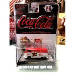 2019 USA Coca-Cola Minicar 1960 Model Volkswagen Delivery Van Christmas Design