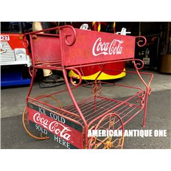 USA Coca-Cola Iron Wagon Vintage