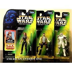 1998 Mara Jade & Kyle Katarn & Space Trooper/Star Wars  Hasbro