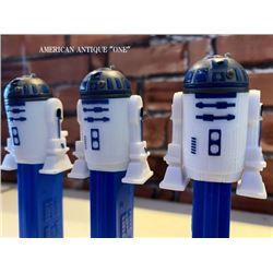 2004 Pez Star Wars / R2-D2 three set