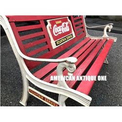 USA Coca-Cola Benchi