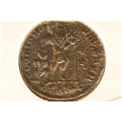 DRAGGING CAPTIVE IMPERIAL ANCIENT COIN OF THE