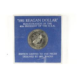 1981 REAGAN DOLLAR, THIS IS A COUNTERSTRUCK