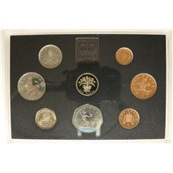 1984 UNITED KINGDOM PROOF SET NO BOX