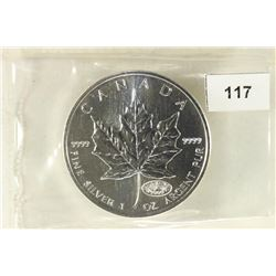 2000 CANADA $5 MAPLE LEAF 1 TROY OZ 9999 FINE