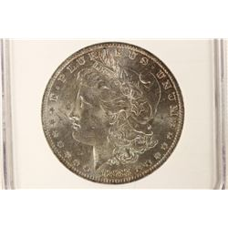 1883-O MORGAN SILVER DOLLAR NGC MS62