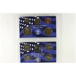 2002 US PROOF SET (WITHOUT BOX)