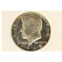 1968-S 40% SILVER JOHN F. KENNEDY HALF ANACS PF66