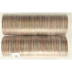 2-$10 ROLLS OF 2006-D NORTH DAKOTA & 2008