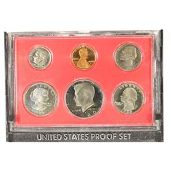 1980 US PROOF SET (WITHOUT BOX)