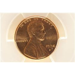 1974-D LINCOLN CENT PCGS MS65RD