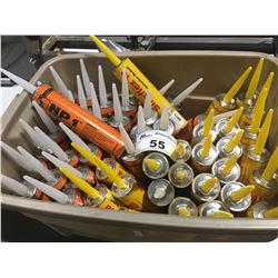 APPROX. 50 TUBES CONSTRUCTION SEALANT