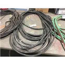 HEAVY GAUGE 3 WIRE EXTENSION CORD.  APPROX. 100 FT.