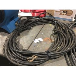 HEAVY GAUGE 110 VOLT EXTENSION CORD.  APPROX. 100 FT.