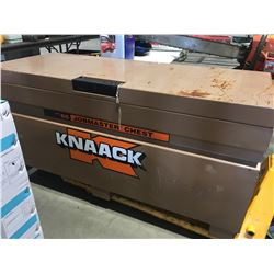 """KNAACK 60"""" CONSTRUCTION TOOL CHEST- INCLUDES LOCK"""